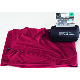 Cocoon Travel Blanket CoolMax, eggplant